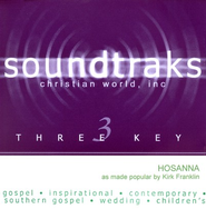 Hosanna, Accompaniment CD   -     By: Kirk Franklin