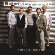 God's Been Good CD   -              By: Legacy Five