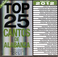 Top 25 Cantos De Alabanza 2012 Edition, 2 CDs   -
