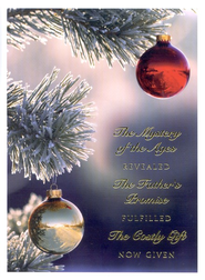 The Mystery of the Ages - Musical Christmas Card w/CD   -