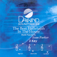 The Best Hallelujah In The House, Accompaniment CD   -              By: Ivan Parker