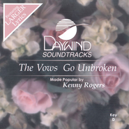 The Vows Go Unbroken, Accompaniment CD   -     By: Kenny Rogers