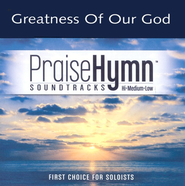 Greatness Of Our God, Accompaniment CD   -     By: Natalie Grant