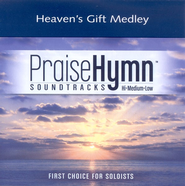 Heaven's Gift Medley, Accompaniment CD   -