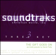 The Gift Goes On, Accompaniment CD   -              By: Sandi Patty