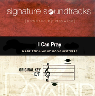 I Can Pray, Accompaniment CD   -              By: The Inspirations