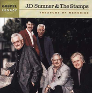Treasury of Memories CD   -              By: J.D. Sumner, The Stamps