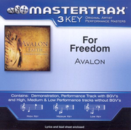 For Freedom, Accompaniment CD   -     By: Avalon