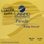 Parade, Accompaniment CD   -     By: Kathy Troccoli