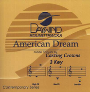 American Dream, Accompaniment CD   -     By: Casting Crowns