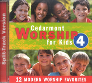 Cedarmont Worship for Kids: Volume 4 (with Split Tracks), CD   -     By: Cedarmont Kids