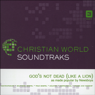 God's Not Dead (Like A Lion), Accompaniment CD   -              By: Newsboys