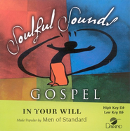 In Your Will, Accompaniment CD   -     By: Men Of Standard