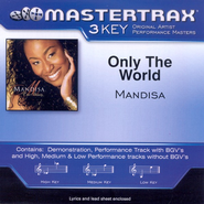 Only The World (Low Key-Premiere Performance Plus w/o Background Vocals)  [Music Download] -     By: Mandisa