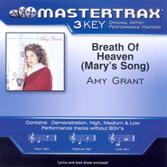 Breath Of Heaven (Mary's Song) (High Key-Premiere Performance Plus w/o Background Vocals)  [Music Download] -     By: Amy Grant