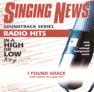 I Found Grace, Accompaniment CD   -     By: Legacy Five