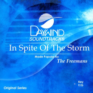 In Spite Of The Storm, Accompaniment CD   -              By: The Freemans