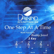 One Step At A Time, Accompaniment CD   -     By: Buddy Jewel