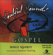 Holy Spirit, Accompaniment CD   -     By: Duawne Starling