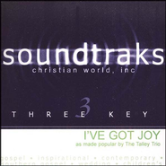 I've Got Joy, Accompaniment CD   -     By: The Talley Trio