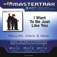 I Want To Be Just Like You (Key-Db-D-E-Premiere Performance Plus)  [Music Download] -     By: Phillips Craig & Dean