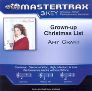 Grown-Up Christmas List (Premiere Performance Plus Track)  [Music Download] -     By: Amy Grant