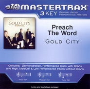 Preach The Word, Accompaniment CD   -     By: Gold City