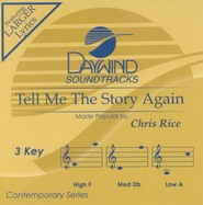 Tell Me the Story Again, Accompaniment CD   -     By: Chris Rice