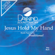 Jesus Hold My Hand, Accompaniment CD   -