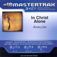 In Christ Alone (Medium Key-Premiere Performance Plus w/o Background Vocals)  [Music Download] -     By: Avalon