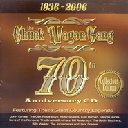 The Chuck Wagon Gang 70th Anniversary CD   -              By: The Chuck Wagon Gang
