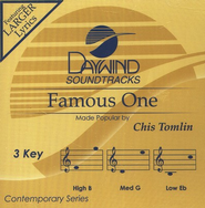 Famous One, Accompaniment CD   -     By: Chris Tomlin