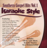 Southern Gospel Hits, Volume 1, Karaoke Style CD   -