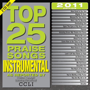 Top 25 Instrumental Praise Songs of 2011--2 CDs   -