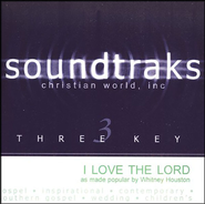 I Love The Lord, Accompaniment CD   -     By: Whitney Houston