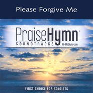 Please Forgive Me, Accompaniment CD   -     By: Gaither Vocal Band