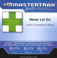 Never Let Go, Accompaniment CD   -     By: David Crowder Band