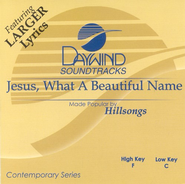 Jesus, What A Beautiful Name, Accompaniment CD   -