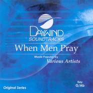 When Men Pray, Accompaniment CD   -