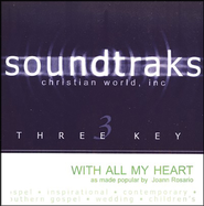 With All My Heart, Accompaniment CD   -     By: Joann Rosario