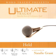 Held - Medium key performance track w/ background vocals  [Music Download] -     By: Natalie Grant