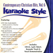 Contemporary Christian Hits, Volume 6, Karaoke Style CD   -     By: Various Artists