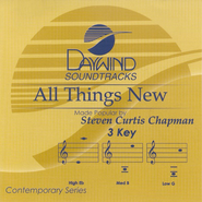 All Things New, Accompaniment CD   -     By: Steven Curtis Chapman