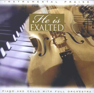 Instrumental Praise: He Is Exalted, Compact Disc [CD]   -