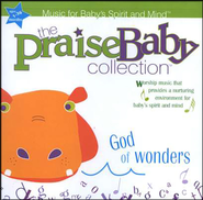 The Praise Baby Collection: God Of Wonders CD   -