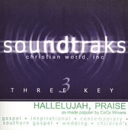 Hallelujah, Praise, Accompaniment CD   -     By: CeCe Winans