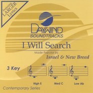I Will Search, Accompaniment CD   -     By: Israel & New Breed