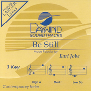 Be Still, Accompaniment CD   -     By: Kari Jobe
