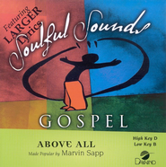 Above All, Accompaniment CD   -              By: Marvin Sapp