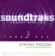 Strong Enough, Accompaniment CD   -     By: Stacie Orrico